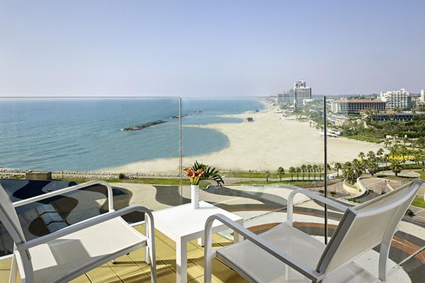 The Ritz Carlton Herzliya Hotel Room Balcony