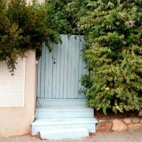 A house in Herzliya with a tiny blue door